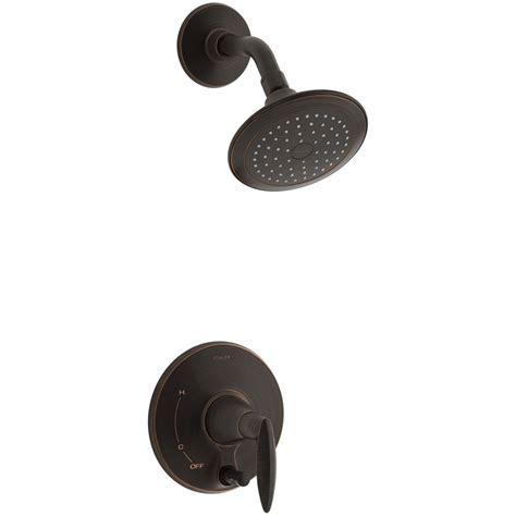 Kohler Shower Rubbed Bronze by Kohler Alteo 1 Handle Shower Faucet Trim Kit In Rubbed