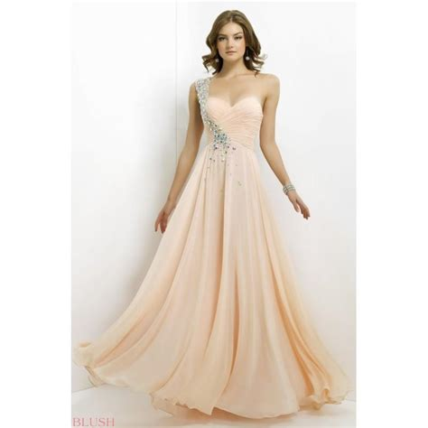 blush prom dress style 9760 2016 spring trends dresses