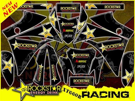 Yamaha Xt 660 X Aufkleber by Yamaha Xt 660 X R Rockstar Racing Dekorsatz Stickers