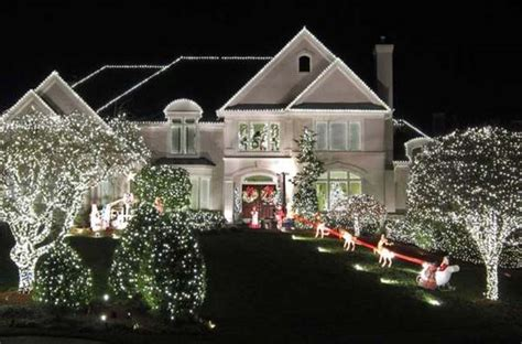 exterior christmas decorating net top 46 outdoor lighting ideas illuminate the spirit architecture design