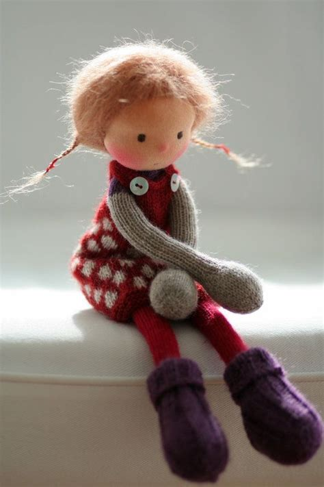 1000 Ideas About Knitted Dolls On Waldorf