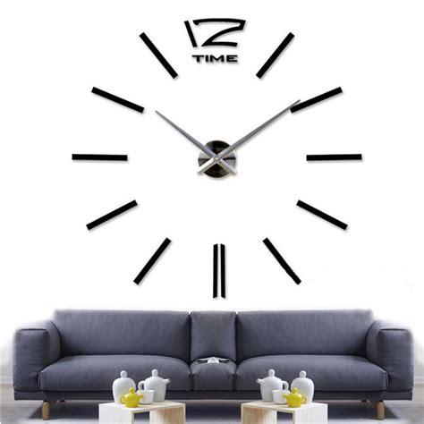 Jysk Jam Dinding Black 3d wall clock jam dinding black