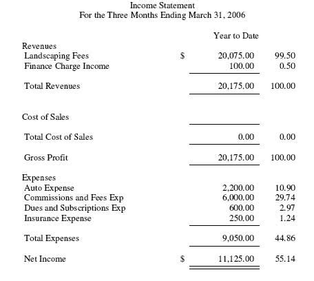 profit and loss statement sample template best template