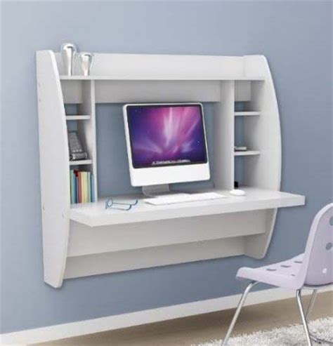Small White Desks For Bedrooms Awesome Desk Design For Small Space Homesfeed