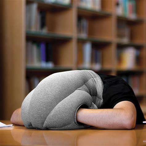Nap Pillow by The Power Nap Pillow Hammacher Schlemmer