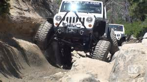 Jeep Offroading Rubicon A Legendary Jeep Trail Road Adventure