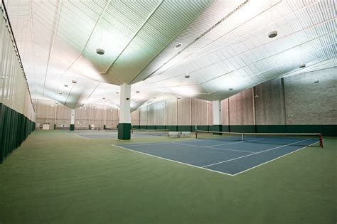 indoor tennis courts robert b goergen athletic center athletics and recreation university of rochester