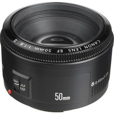 canon ef 50mm f/1.8 ii lens, usa warranty 2514a002