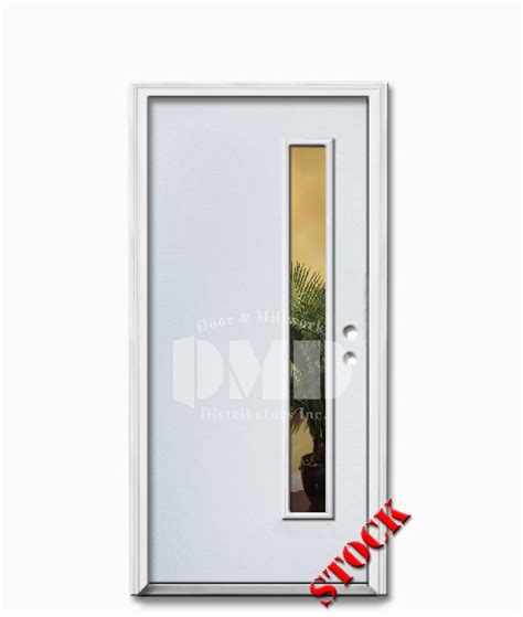 Exterior Flush Door 1 Lite Flush Steel Exterior Door 6 8 Door And Millwork Distributors Inc Chicago Wholesale