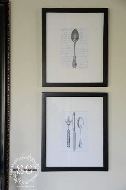 free printable wall art vintage printable wall art for the kitchen