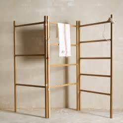 objects of design 179 folding wooden clothes horse mad