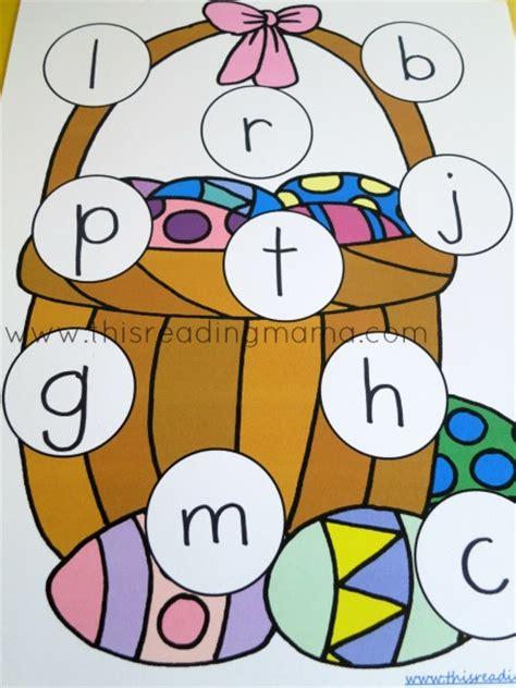 printable alphabet egg hunt beginning letter sounds easter egg hunt free printable