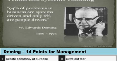 W Deadly Disorders by Lean Manufacturing Six Sigma Quality Management System