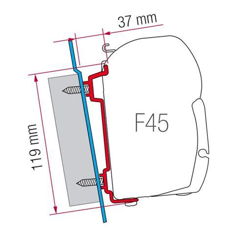 fiamma f45 awning mounting brackets caravansplus 98655 741 fiamma f45 awning mounting
