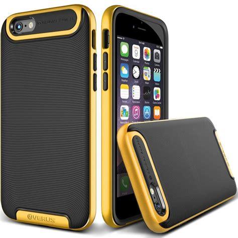 Crucial Bumper Verus Iphone 6 verus crucial bumper skal till apple iphone 6 6s gul themobilestore