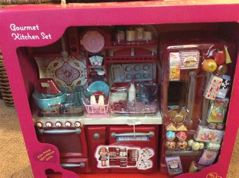 new our generation kitchen set for 18 quot american
