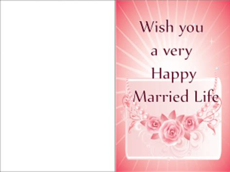 happy married life greeting cards