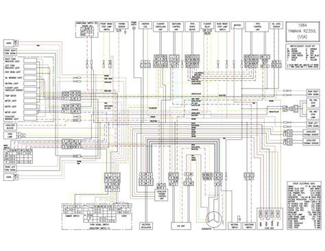 1985 honda 500 magna wiring diagram 1985 get free image