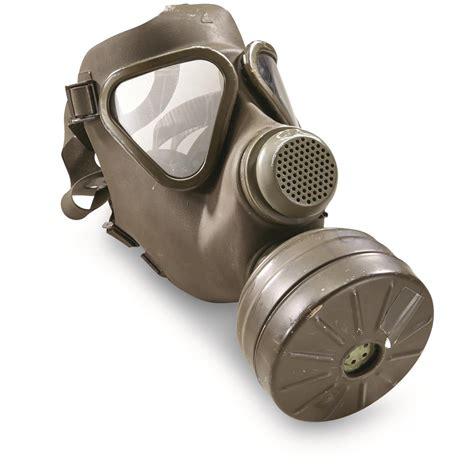 gas mask german surplus draeger gas mask like new