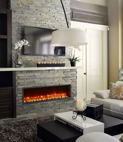 electric in wall fireplace dynasty bt55 in wall linear electric fireplace 1299 00 cdn condo living linear fireplace