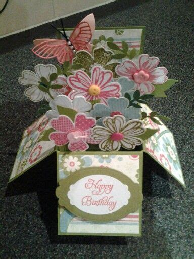 tutorial carding shop flower shop card in a box tutorial from scs http www