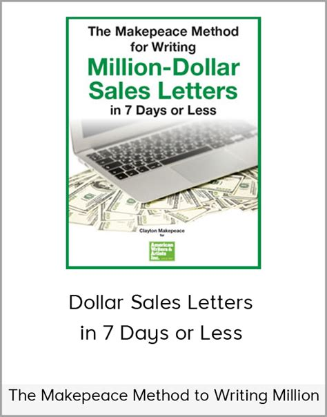 7 Things To Learn To Be Less Co Dependent by The Makepeace Method To Writing Million Dollar Sales