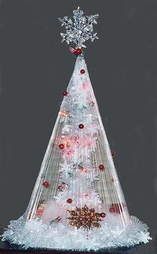 fishing line christmas tree great idea for more advanced