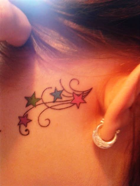 hot small tattoos 10 small ear tattoos for