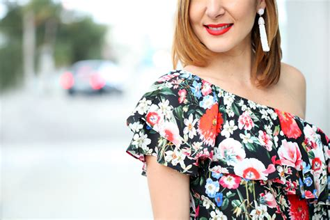 Ready 100 Original Bestseller Zara Floral Pink 1 mixing patterns florals stripes blame it on mei miami fashion mei jorge