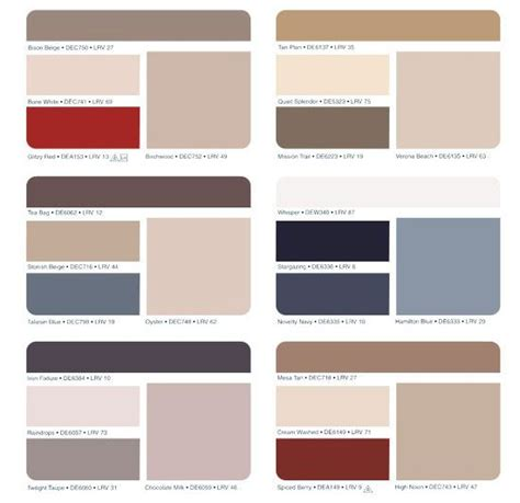 dunn edwards exterior paint color chart images