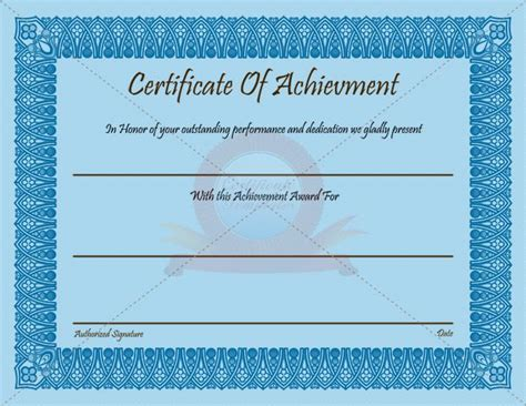 academic certificate template 25 best ideas about certificate of achievement template