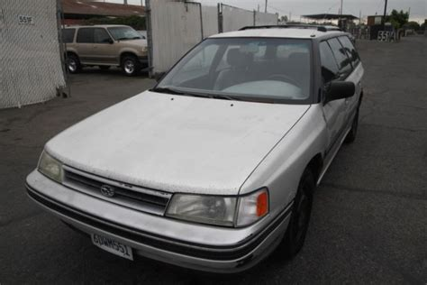 manual cars for sale 1990 subaru justy electronic valve timing 1990 subaru legacy manual 4 cylinder no reserve for sale photos technical specifications