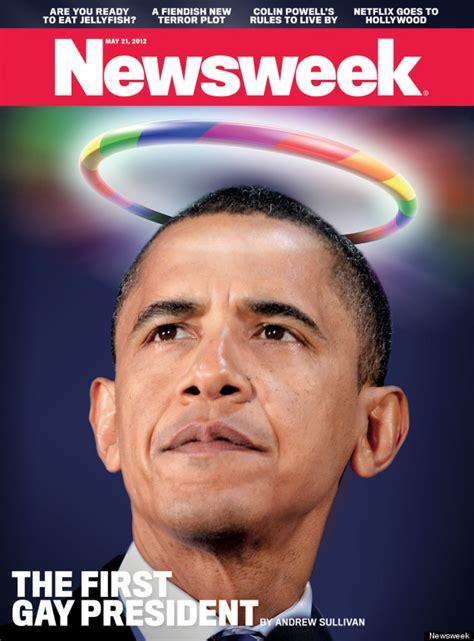 newsweek obama the first president photo huffpost