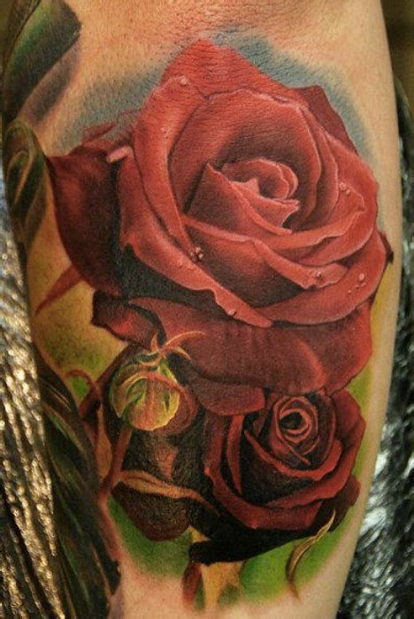 3d rose tattoo designs awesome 3d tattoos designs