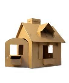 Cardboard House Cardboard House Idea Diy Quilts Wool Craft Pinterest