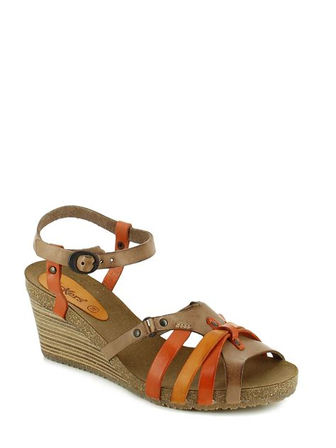 Sandal Wedges Selop Wanita Kickers kickers sandals sandales nu pieds best prices