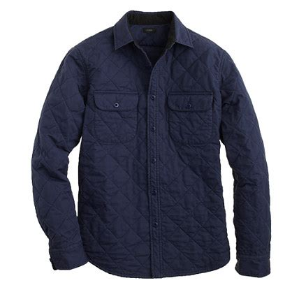 Quilted Shirt Jacket by Quilted Shirt Jacket Shirt Jackets J Crew