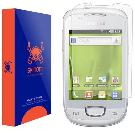 Capdase Original Anti Glare For Samsung Galaxy Mini S5570 Anti skinomi matteskin samsung galaxy mini matte screen protector