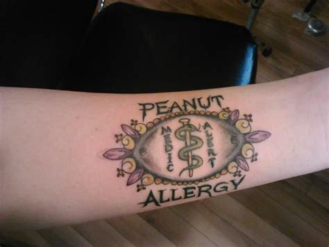 medical alert tattoo my medic allert by natalie at infinity tattoos