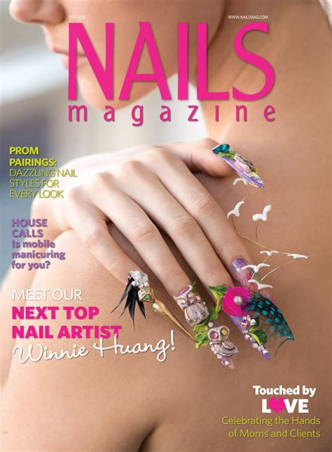 nail magazine nails magazine may 2016 issue