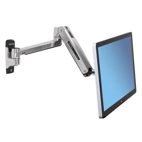 ergotron lx hd sit stand desk mount lcd arm ergotron lx sit 187 193 rg 233 p