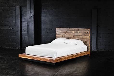 Cal King Wood Platform Bed Grant Reclaimed Wood California King Platform Bed Platform Beds By Zin Home