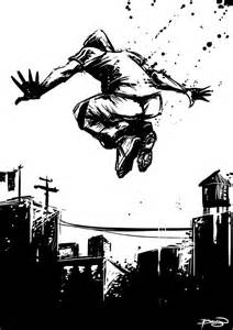 bruyn the art of craig bruyn parkour 20 minute sketch