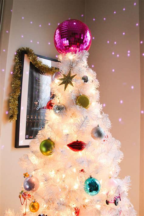 disco ball tree topper diy disco tree topper