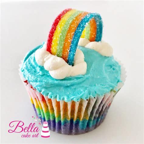 Rainbow Cup rainbow cupcakes