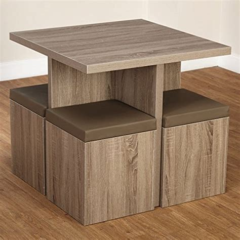 5 piece baxter dining set with storage ottoman multiple colors simple living 5 piece baxter dining set with storage chair