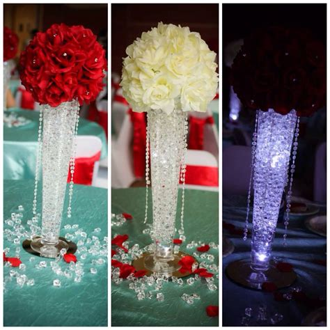 my s quinceanera centerpieces theme was quot bling