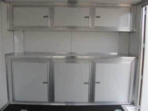 Cargo Trailer Cabinets base cabinet for 8 5 wide trailers cargo