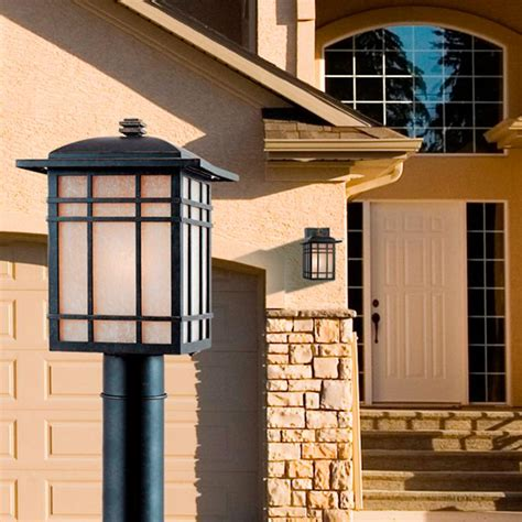 Frontgate Outdoor Lighting Lenox Outdoor Lighting Post Lantern Frontgate
