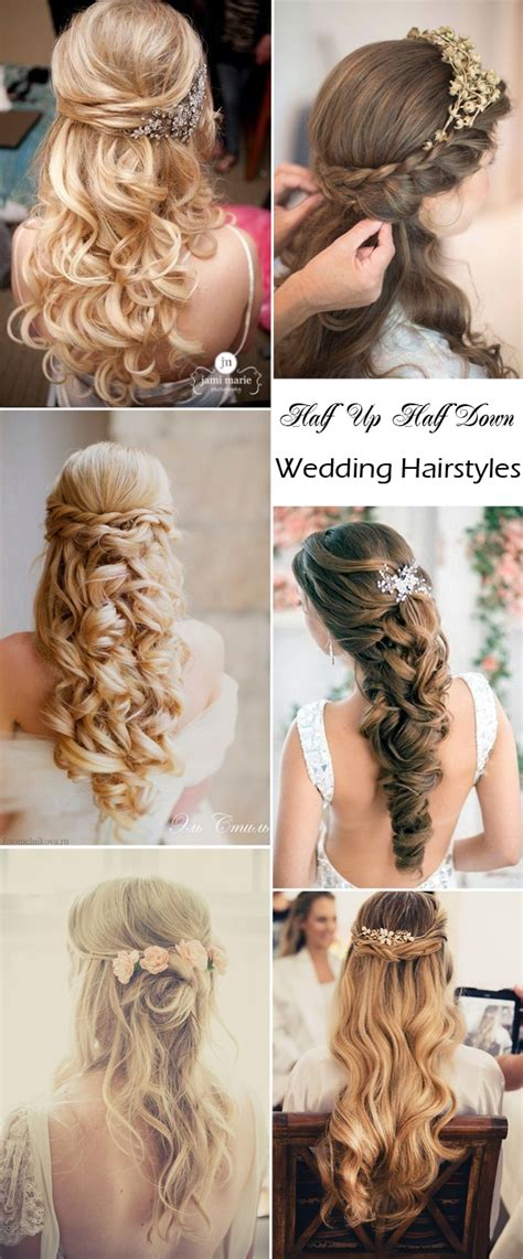 Wedding Hairstyles For Hair Half Up Half Tutorial by Wedding Hairstyles For Hair Half Up Tutorial